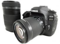 Canon キヤノン EOS 80D ダブルズームキット EOS80D-WZOOMKIT 一眼レフ カメラ レンズ 趣味 撮影