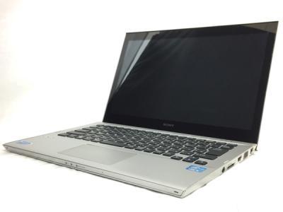 SONY VAIO Tシリーズ SVT13139CJS 13.3型 ノート PC i5-3337U 4GB 500GB Win7
