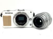 OLYMPUS オリンパス PEN mini E-PM2 レンズキット ホワイト カメラ ミラーレス一眼