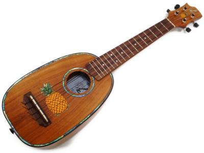 K.UKULELES K-201P パイナップル ウクレレ 楽器