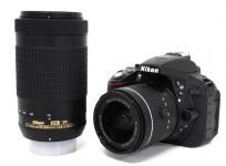 Nikon ニコン D5300 AF-P 18-55 +AF-P 70-300 ダブルズーム カメラ デジタル 一眼 レフ ブラック