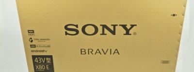 SONY BRAVIA KJ-43X8000E デジタル ハイビジョン 液晶テレビ 43V型