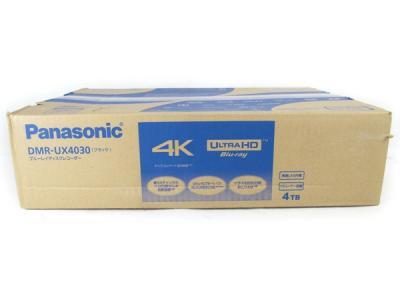 Panasonic DIGA DMR-UX4030 4TB Blu-ray BD ディスク DVD レコーダー ブラック