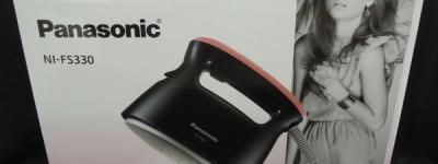 Panasonic パナソニック NI-FS330-PK 衣類スチーマー ピンクブラック