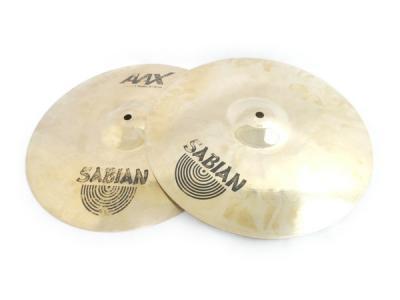 SABIAN AAX METAL Hats 14/36cm 2枚 セット シンバル ハイハット