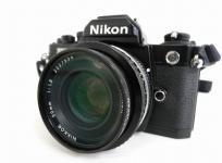 Nikon FM2 NIKKOR 50mm 1:1.8 フィルム カメラ ボディ レンズ セット ニコン