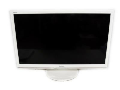 SHARP シャープ AQUOS アクオス LC-24P5-W ホワイト 24型 テレビ