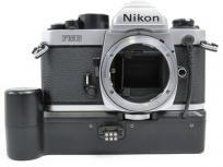 Nikon FM2 NEW シルバー カメラ 一眼レフ フィルムカメラボディ
