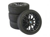 BMW F30 3シリーズ ダブルスポーク スタイリング 405M マットブラック タイヤ付 直