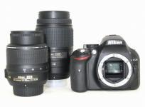 Nikon D5200 ダブル ズーム キット デジタル 一眼レフ カメラ ニコン 2410万画素