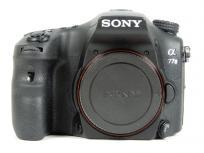 SONY ソニー α77 II ILCA-77M2 ボディ デジタル 一眼レフ カメラ