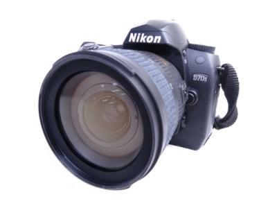 Nikon ニコン D70s レンズキット D70SLK カメラ デジタル一眼レフ ブラック