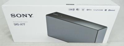 SONY ソニー SRS-X77 Bluetooth ワイヤレススピーカー オーディオ