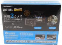 COMTEC ZDR-015 ドライブレコーダー 前後カメラ ドラレコ フルHD