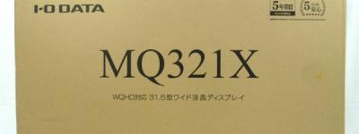 IO DATA LCD-MQ321XDB 31.5インチ ワイド液晶 液晶ディスプレイ モニター
