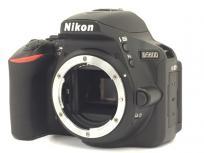 Nikon ニコン D5600 一眼レフ カメラ ボディ のみ 充電器 充電池 付 シャッター回数 約3500