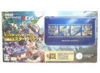 ニンテンドー 任天堂 Νew 3DS LL モンスターハンター狩猟生活 (ハンターライフ) スタートパック Nintendo