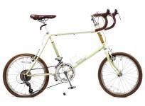 BRUNO MINIVELO 20 ROAD 460 2014 モデル オートミール 自転車 小型の買取