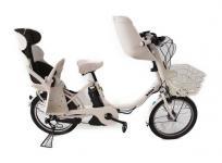 BRIDGESTONE ブリヂストン Bikke2 ビッケ 電動アシスト自転車 アシスト車 電動車 20インチ 3段変速 前後チャイルドシート 付き 大型の買取