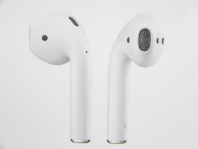 Apple AirPods MMEF2TA/A ワイヤレス イヤホン