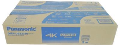 Panasonic ブルーレイレコーダー DMR-UBZ2030 4K ULTRA HD