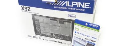 ALPINE アルパイン X9Z メモリー ナビ カーナビ 9型