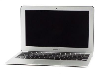 Apple MacBook Air MC506J/A CTOモデル ノートパソコン PC 11.6型 C2D U9600 1.6GHz 4GB SSD128GB 10.13 High Sierra 320M