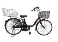 YAMAHA ヤマハ 24型 電動アシスト自転車 PAS ナチュラL デラックス マカロンラテ PM24NL大型の買取