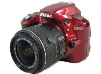 Nikon D3300 18-55 VR II レンズキット デジタル一眼レフカメラ レッド