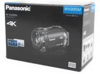 Panasonic HC-WX995M-T 2017年製 4K デジタル ビデオ カメラ ブラウン