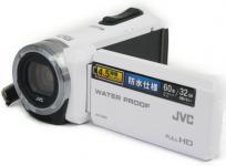 JVC GZ-R70-W ハイビジョンメモリームービー ビデオ カメラ 2014年製 ホワイト 防水仕様