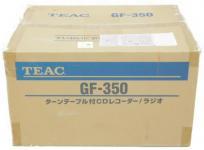 TEAC ティアック GF-350 ターンテーブル付CDレコーダー ラジオ レコードプレーヤー