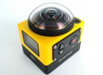 KODAK PIXPRO SP360 360° アクション カメラ 防塵 防滴 WiFi 耐衝撃 耐低温