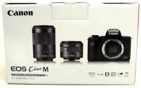 キヤノン Canon EOS Kiss M ダブルレンズキット ホワイト