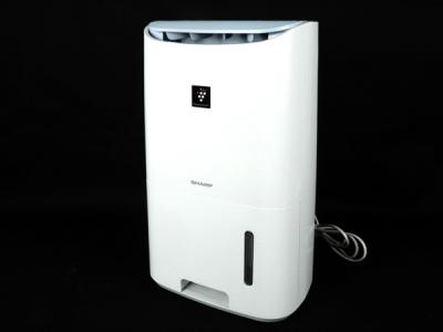 SHARP CV-F71 除湿機 プラズマクラスター 最大 16畳 ホワイト系