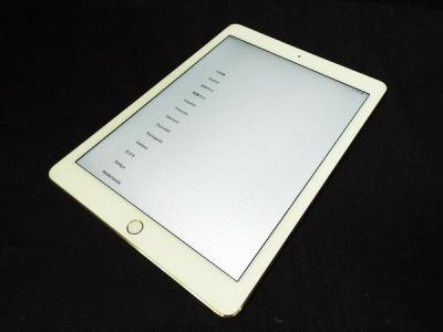 Apple アップル au KDDI MH1C2J/A iPad Air 2 Wi-Fi+Cellular 16GB タブレット 家電 持ち運び