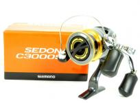 SHIMANO '15 セドナ SEDONA C3000SDH 釣具 ダブルハンドル リール