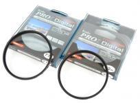 Kenko PRO1 Digital プロテクター ワイド 72mm 77mm 2枚セット レンズ フィルター