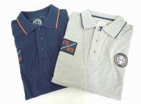 HARCOUR アークール 乗馬 ポロシャツ サイズL セット ネイビー グレー 2枚セット