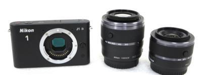 Nikon ニコン Nikon 1 J1 デジタルカメラ コンデジ レンズ交換式 ボディ ブラック
