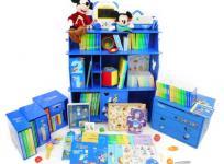 ディズニー Disney ワールド オブ イングリッシュ メインプログラム 英語教育 教材セット 2014