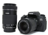 訳有 Canon キヤノン EOS 8000D ダブルズームキット デジタル 一眼レフカメラ