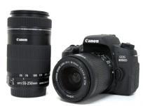 Canon キヤノン EOS 8000D ダブルズームキット デジタル 一眼レフカメラ