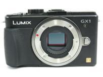 Panasonic パナソニック LUMIX DMC-GX1 ミラーレス 一眼 カメラボディ ブラック