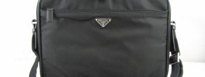 PRADA プラダ ナイロン 2Way ビジネスバッグ ブリーフケース 黒