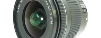 Canon ズームレンズ EF-S 10-18mm F4.5-5.6 IS STM 広角レンズ