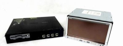 クラリオン NX308DT 2DIN フルセグ DVD SDD AV-Navi ナビワイド7型 DTX870 チューナー セット