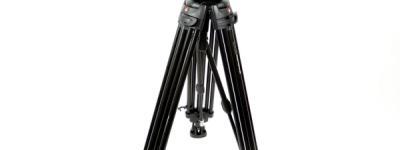 manfrotto マンフロット 509HD 545B ビデオ三脚 雲台 MBAG100PNHD付 セット カメラ周辺機器