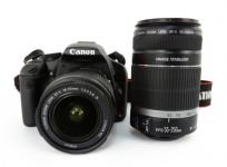 Canon kiss x3 ダブルズームキット EFS18-55mm EFS55-250mm