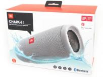 JBL CHARGE3 Portable Bluetooth Speaker ポータブル Bluetooth スピーカー グレー